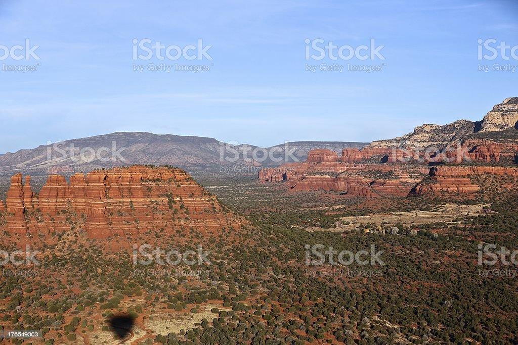 Sedona, Arizona Ballooning foto stock royalty-free