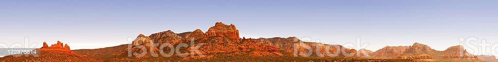 Sedona, Arizona Panoramic Landscape stock photo