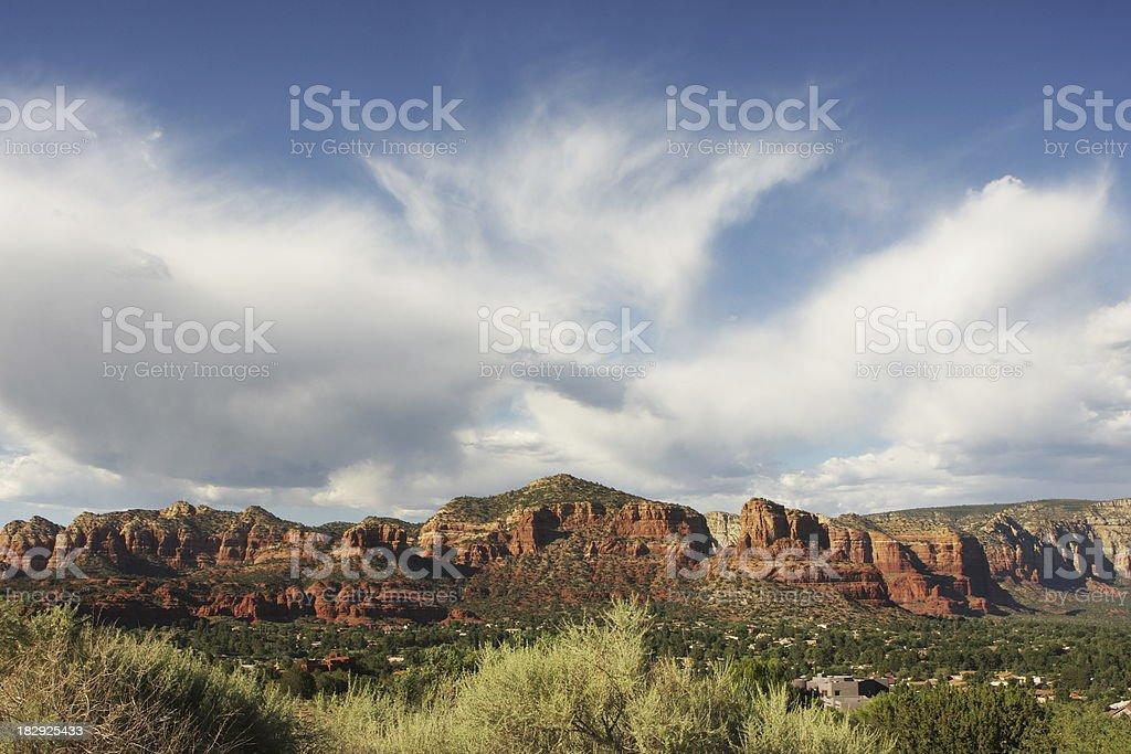 Sedona Arizona Red Rock Landscape royalty-free stock photo