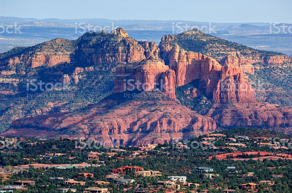 Sedona Arizona Scenic View stock photo