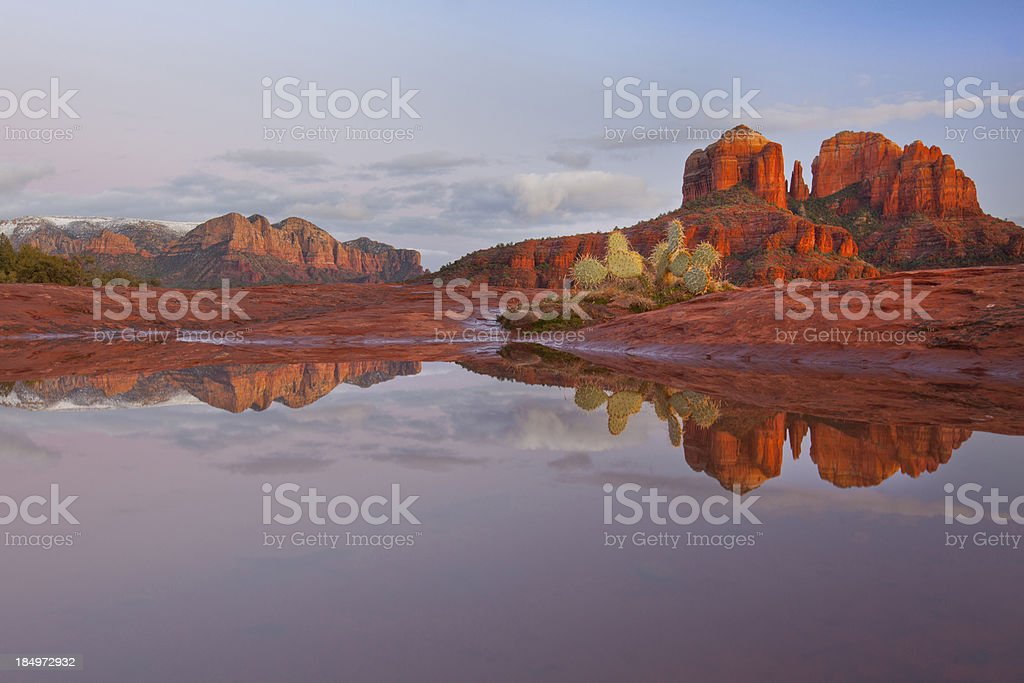 Sedona Arizona Sunset royalty-free stock photo