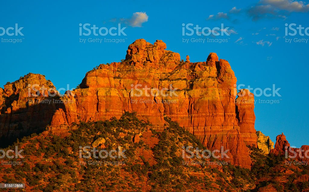 Sedona, Arizona, Top of the Bell Rock stock photo