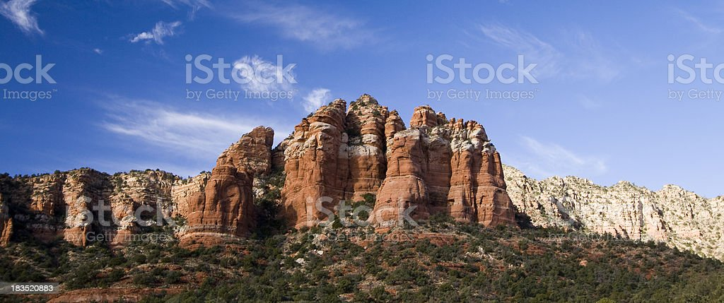 Sedona Butte stock photo