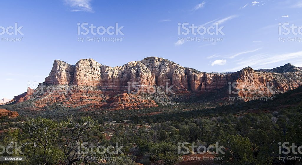 Sedona Buttes stock photo
