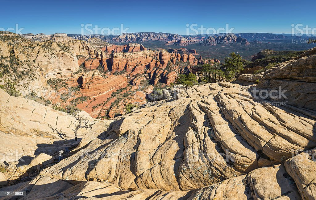 Sedona Red Rock Country mountain landscape panorama Arizona USA royalty-free stock photo