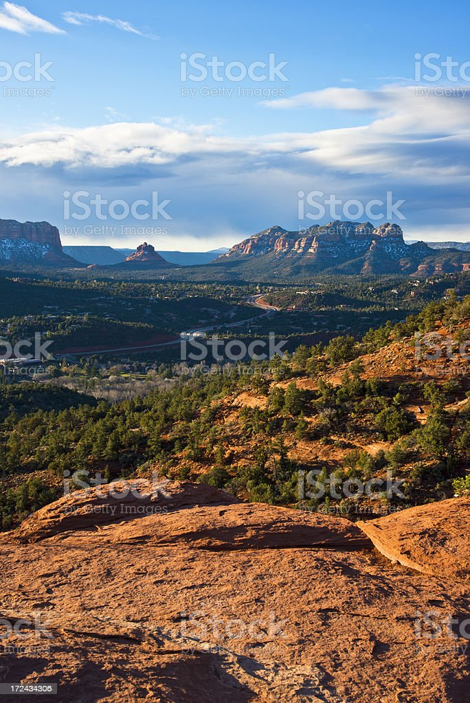 Sedona Red Rocks stock photo