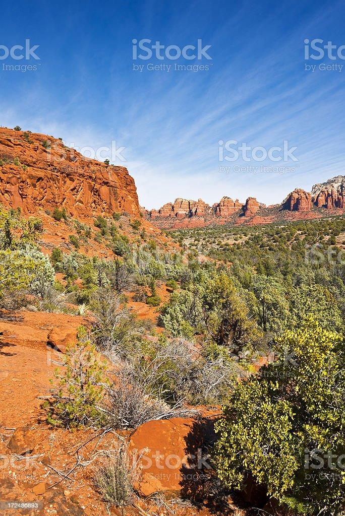 Sedona Red Rocks royalty-free stock photo