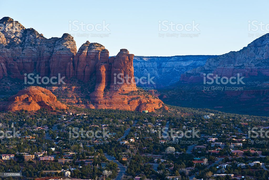 Sedona Sunrise stock photo