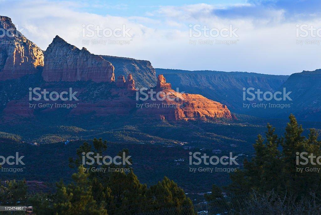 Sedona Sunrise royalty-free stock photo