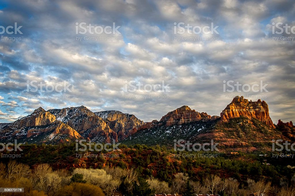 Sedona Vista stock photo