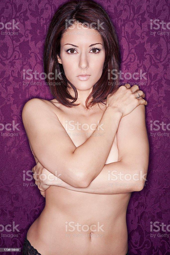 Seductive Beauty royalty-free stock photo