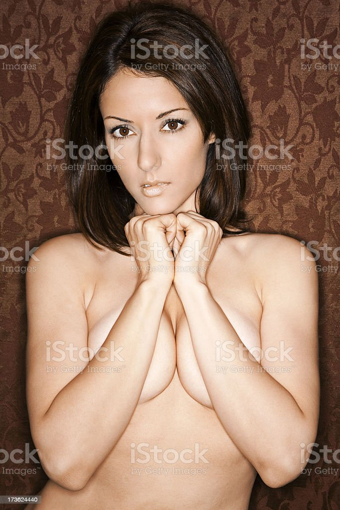 Seductive Beauty royalty-free stock photo
