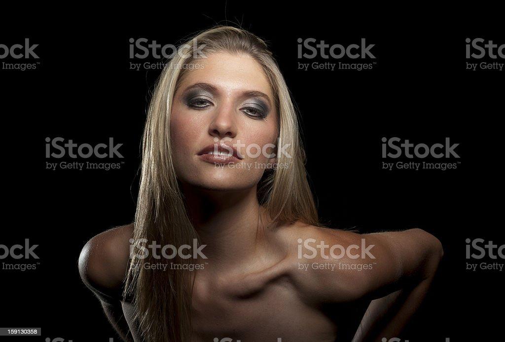 Seductive Blonde stock photo