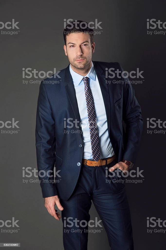 Seductive Businessman stock photo