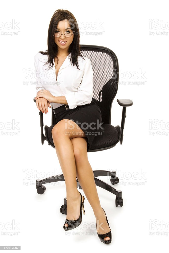 Seductive Businesswoman royalty-free stock photo