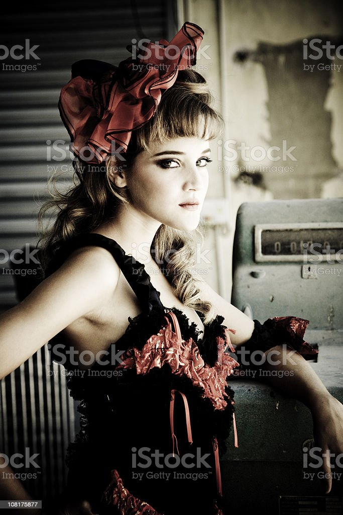 Seductive Girl royalty-free stock photo