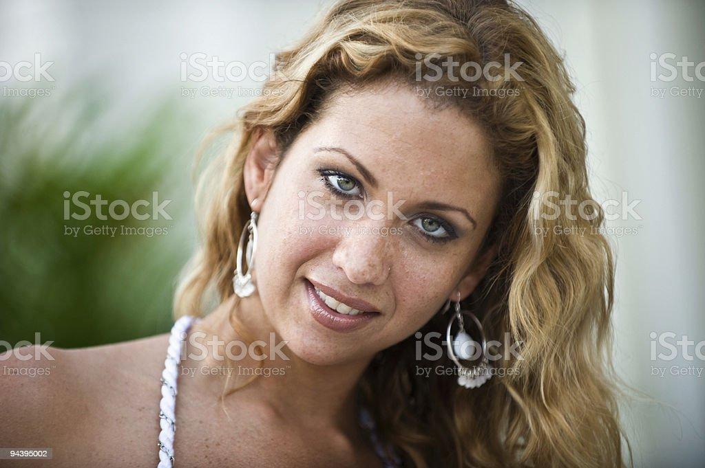 Seductive Smile royalty-free stock photo