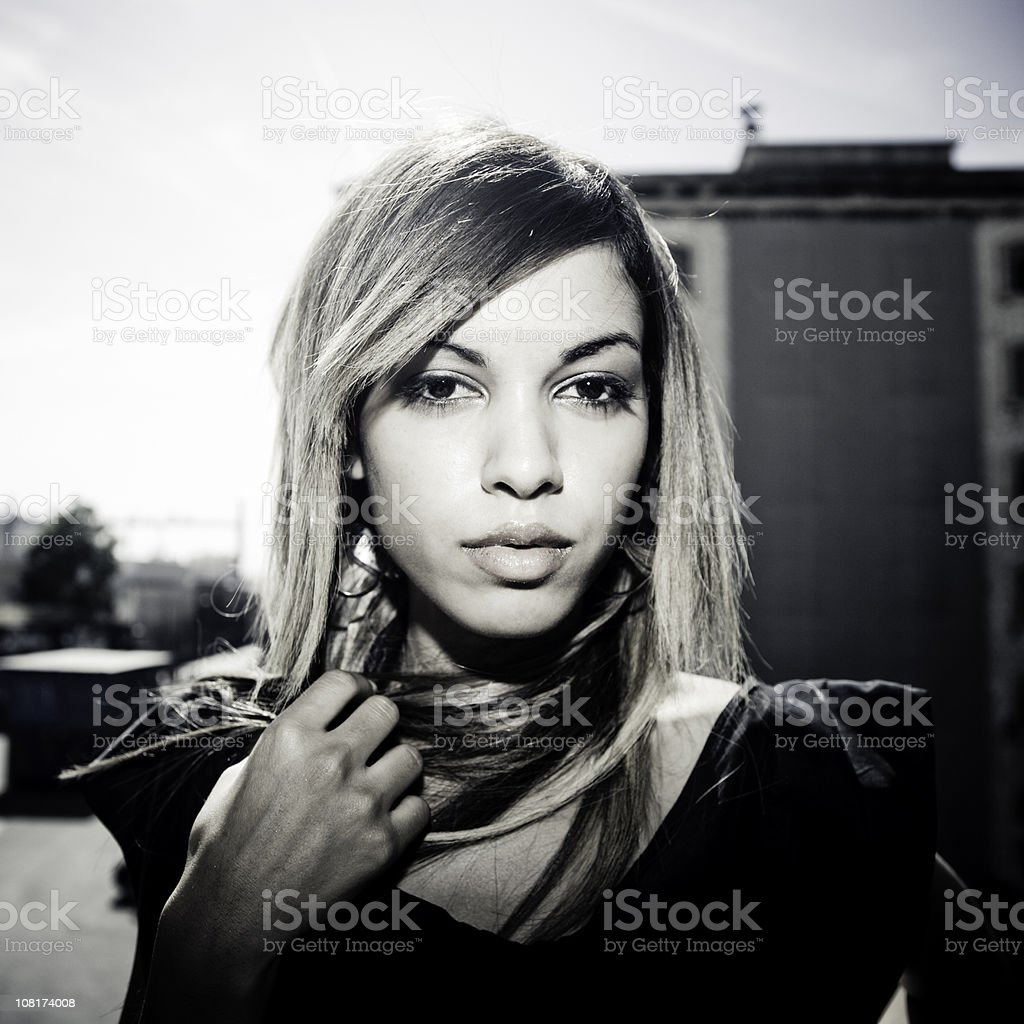 Seductive Young Girl royalty-free stock photo