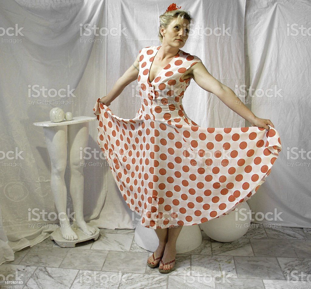 See My Dress royalty-free stock photo