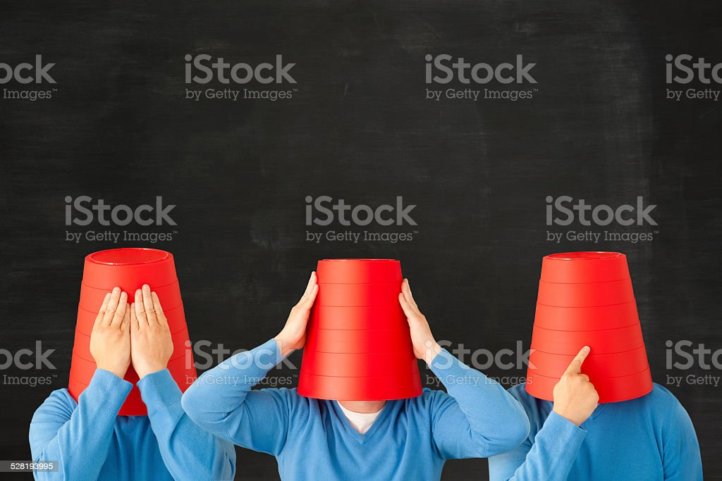 See no evil hear no evil speak on evil stock photo