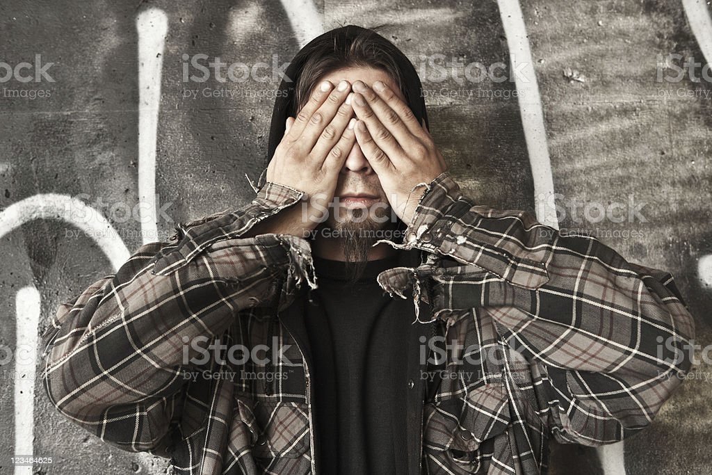 See No Evil (1 of 4) stock photo