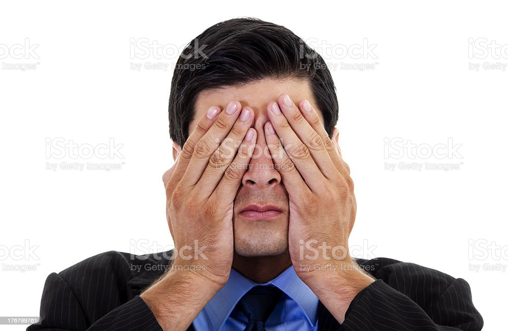 See no Evil royalty-free stock photo