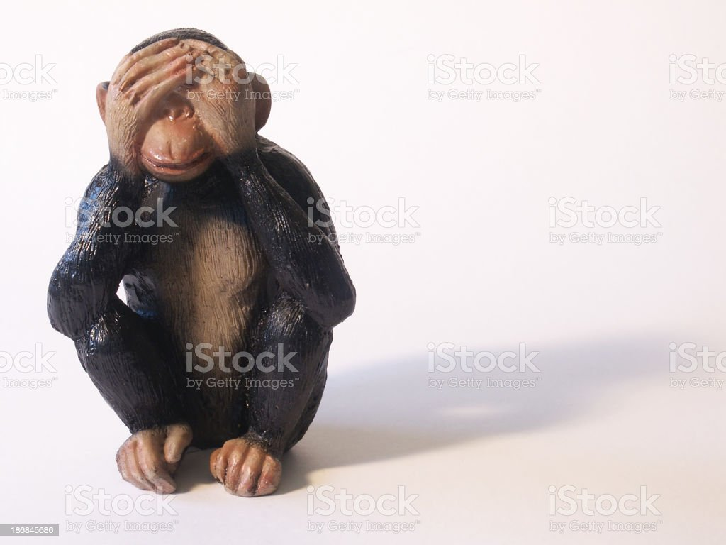 See No Evil stock photo