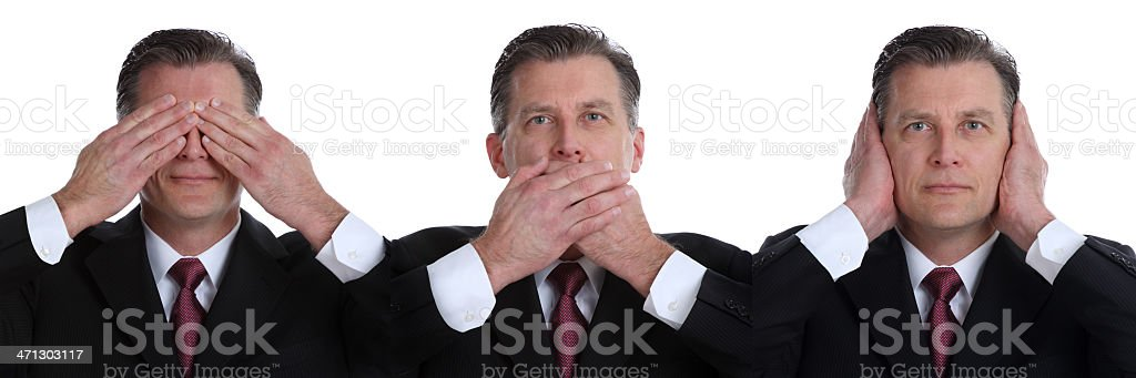 See No Evil..... stock photo