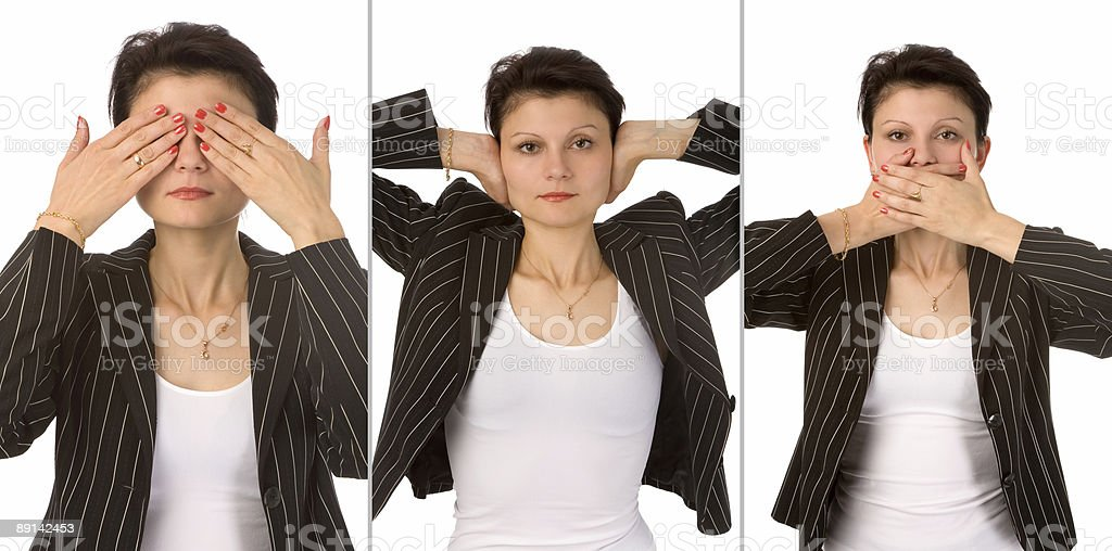 I see nothing royalty-free stock photo