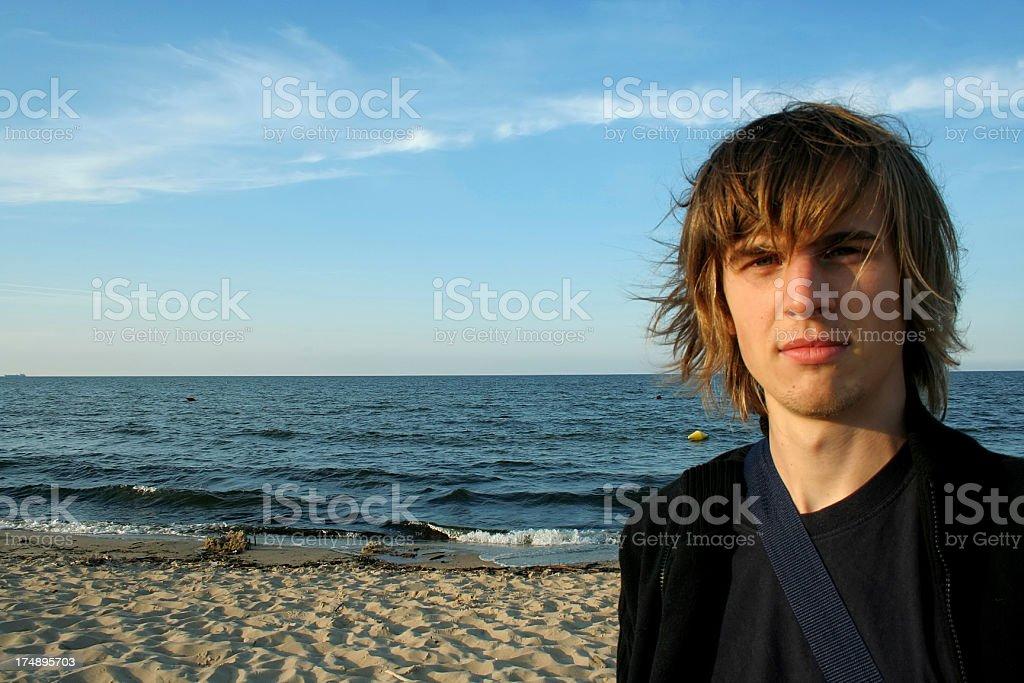 I see the sea! royalty-free stock photo