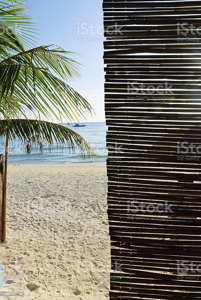 See the sea through stock photo
