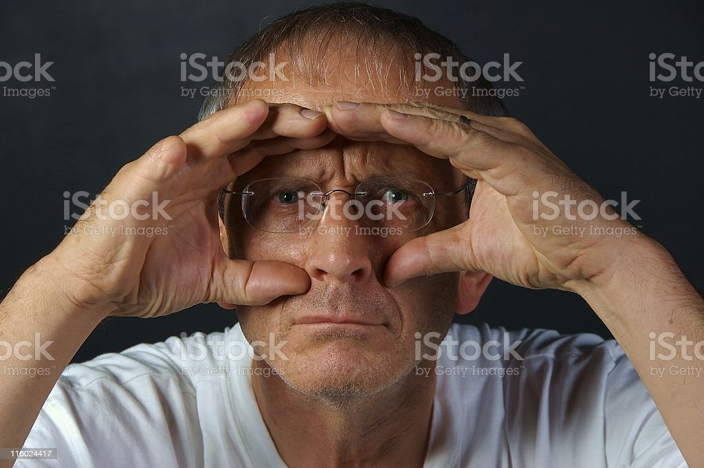 See the Vision! royalty-free stock photo