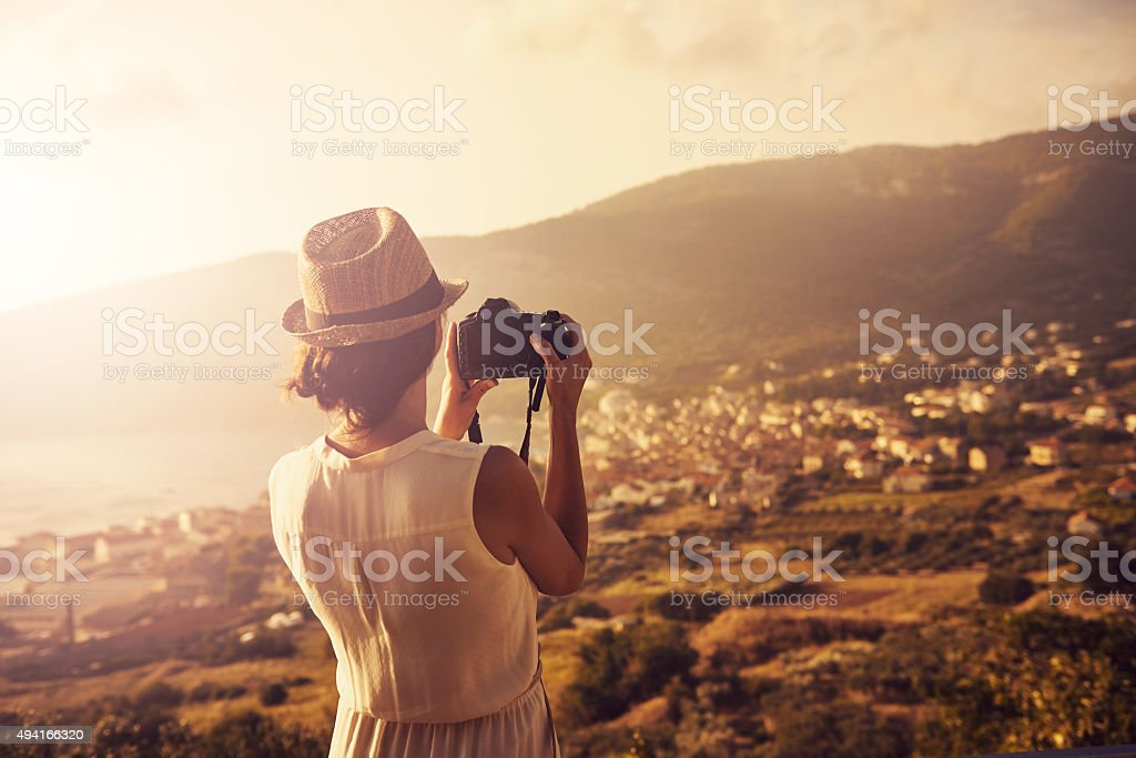 See the world stock photo