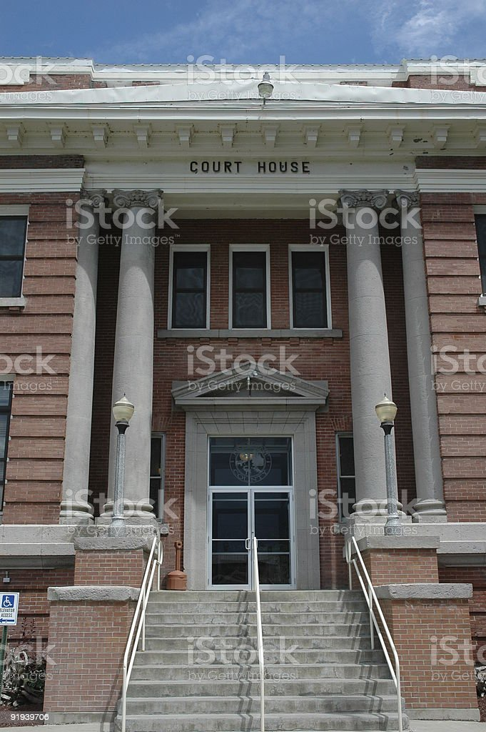 See You In Court royalty-free stock photo