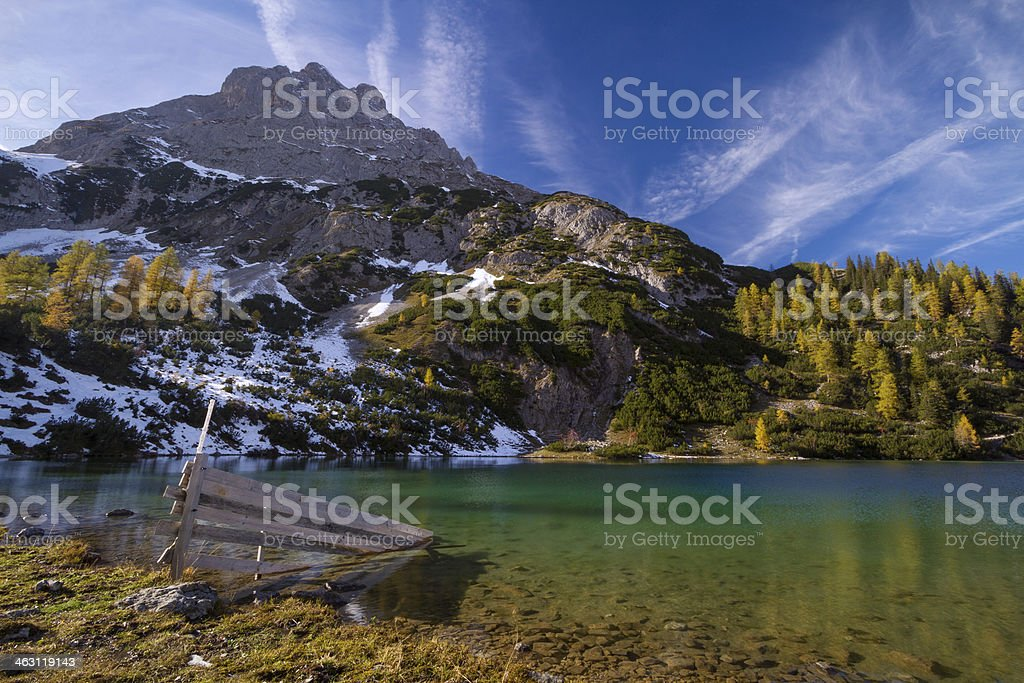 Seebensee royalty-free stock photo