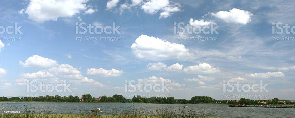 Seeburger See nahe Göttingen royalty-free stock photo