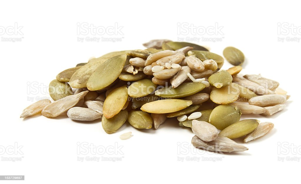 Seed Mixture royalty-free stock photo