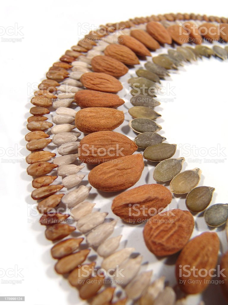 Seed Rainbow royalty-free stock photo