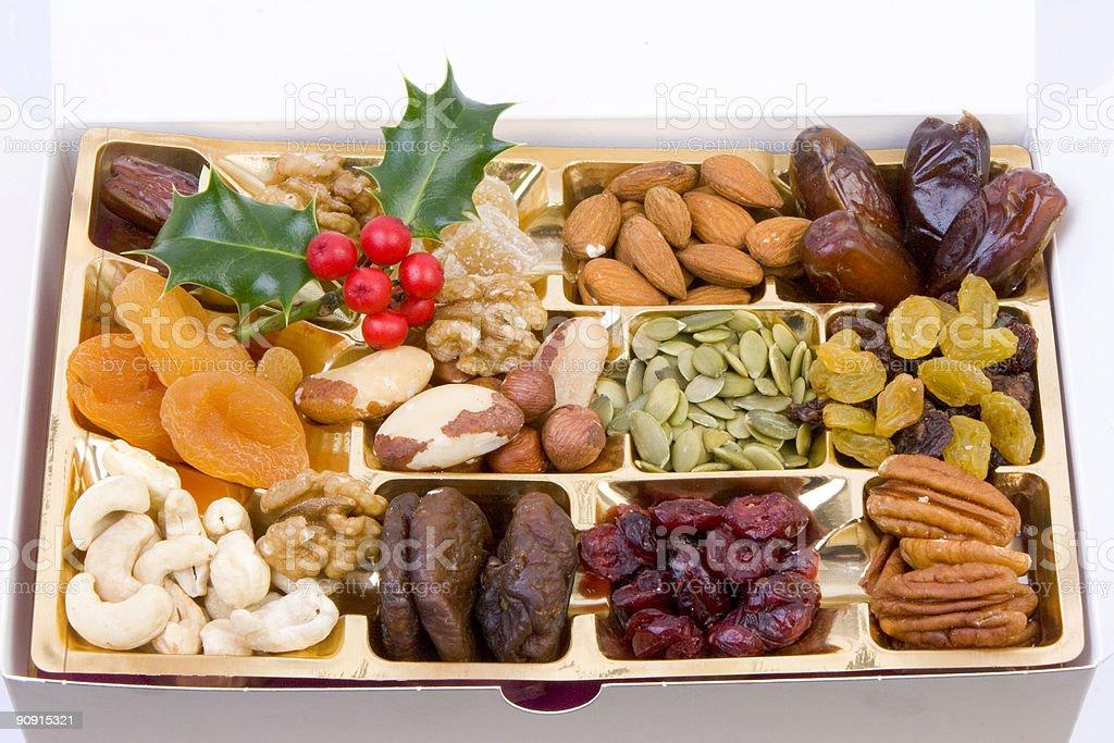Seed selection box royalty-free stock photo
