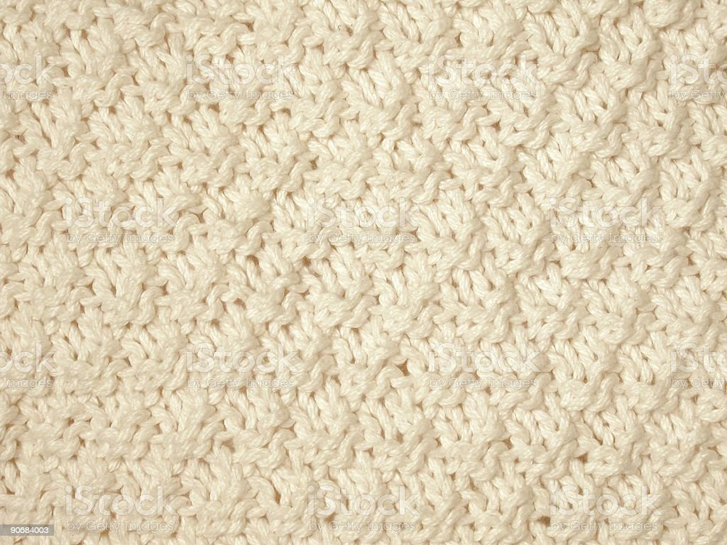 Seed Stitch royalty-free stock photo