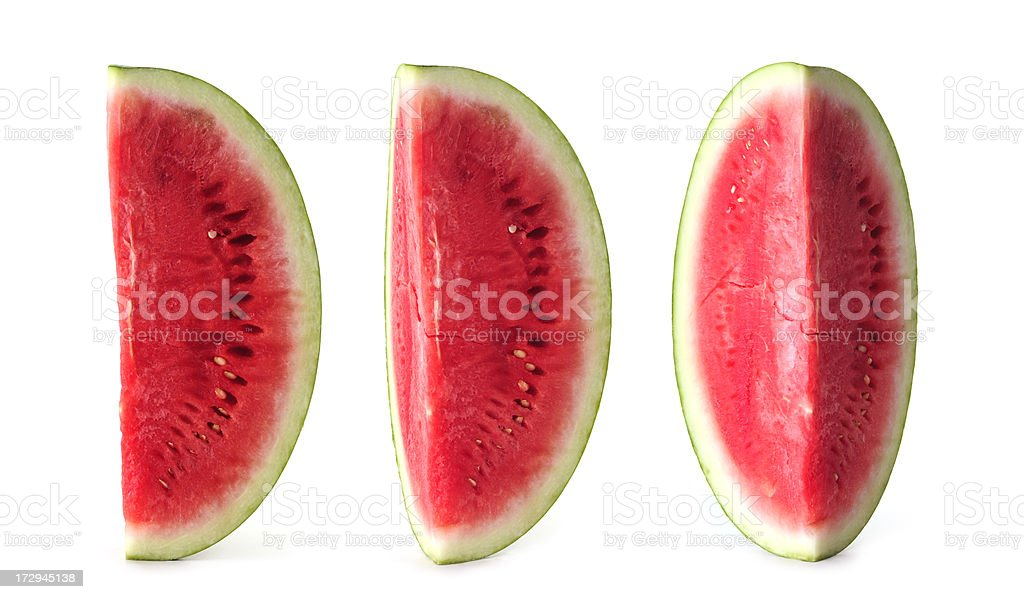 seedless watermelon vertical study royalty-free stock photo
