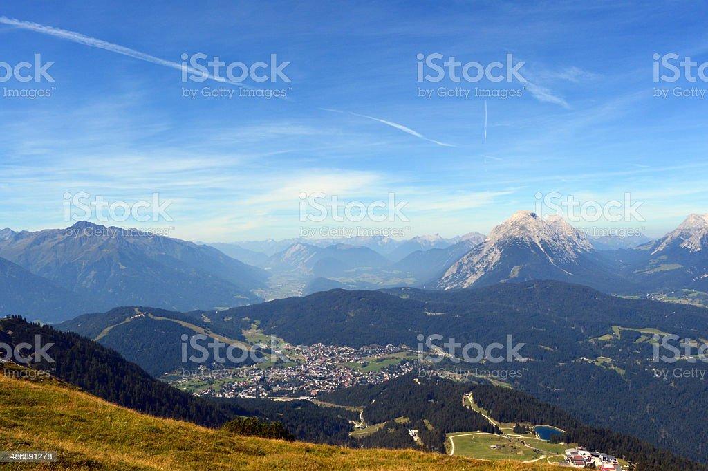 Seefeld in Tirol stock photo