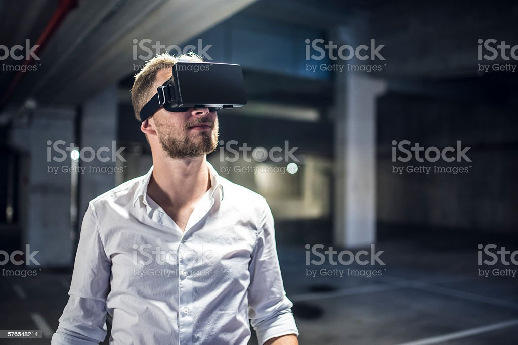 Seeing is believing stock photo
