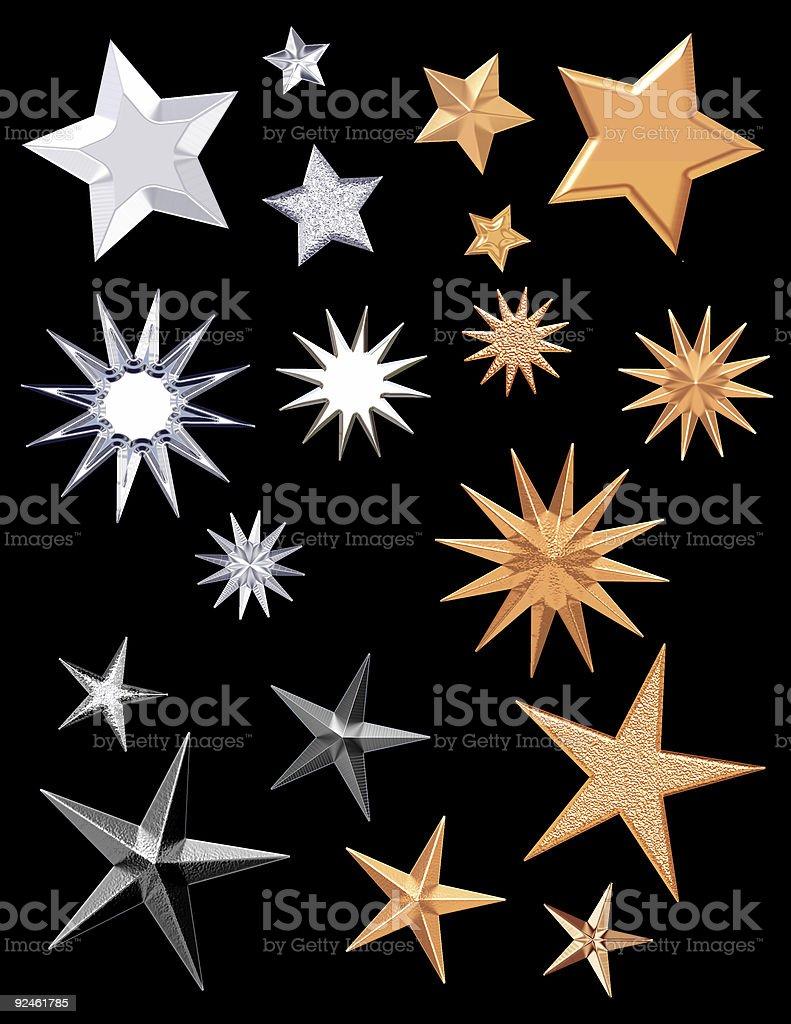 Seeing Stars stock photo