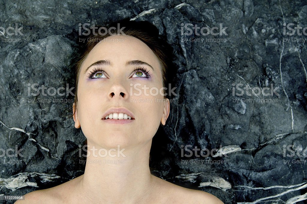 seeing the future stock photo
