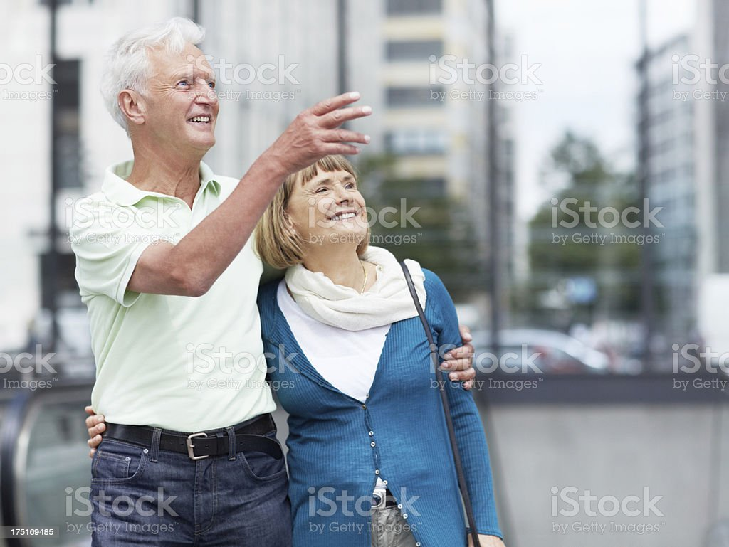 Seeing the sights royalty-free stock photo