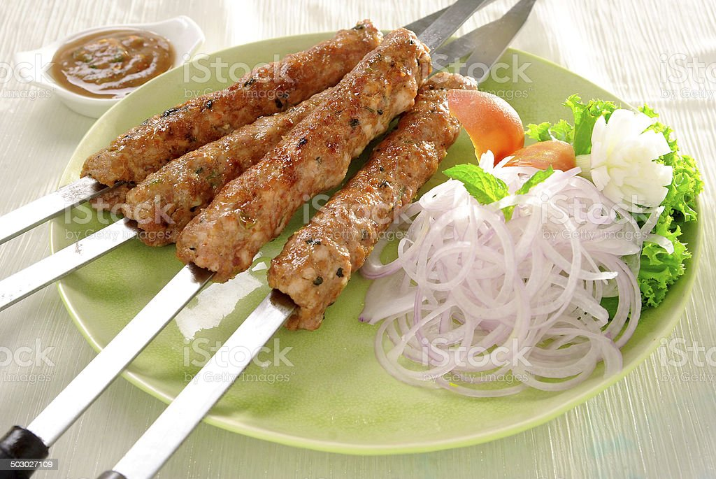 Seekh Kabab-3 stock photo