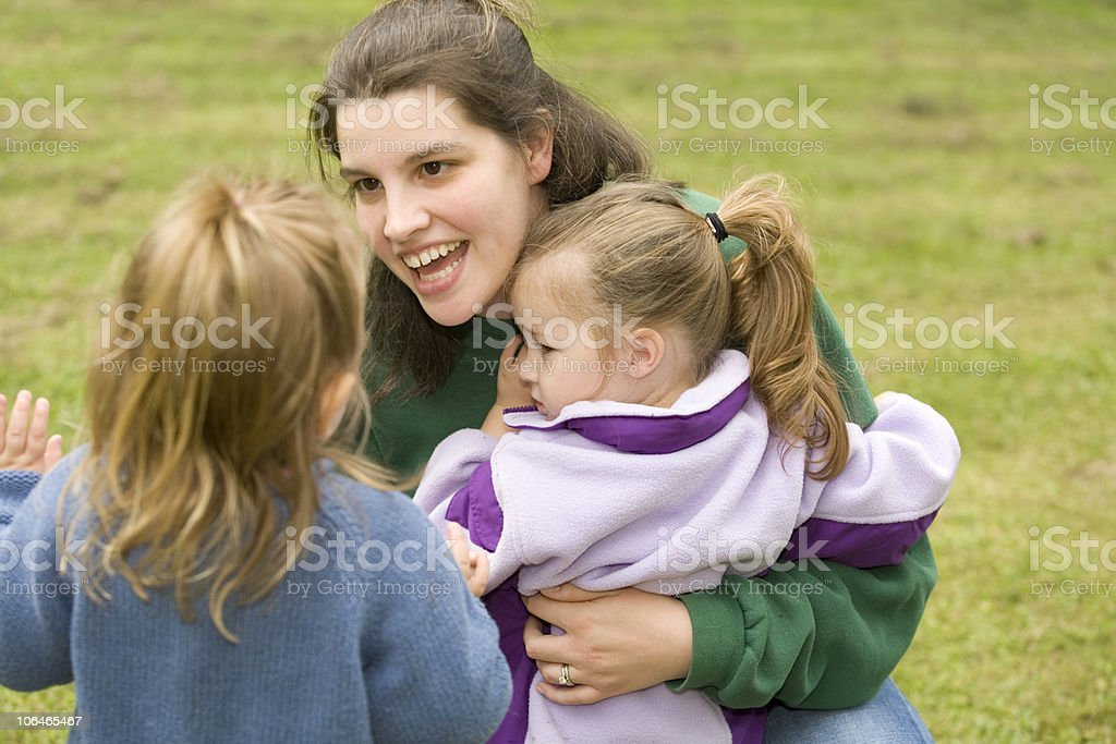 Seeking a Hug stock photo