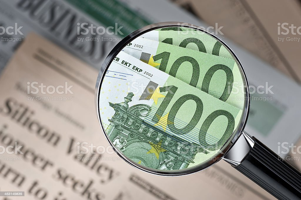 Seeking For A Profitable Investment.Color Image stock photo