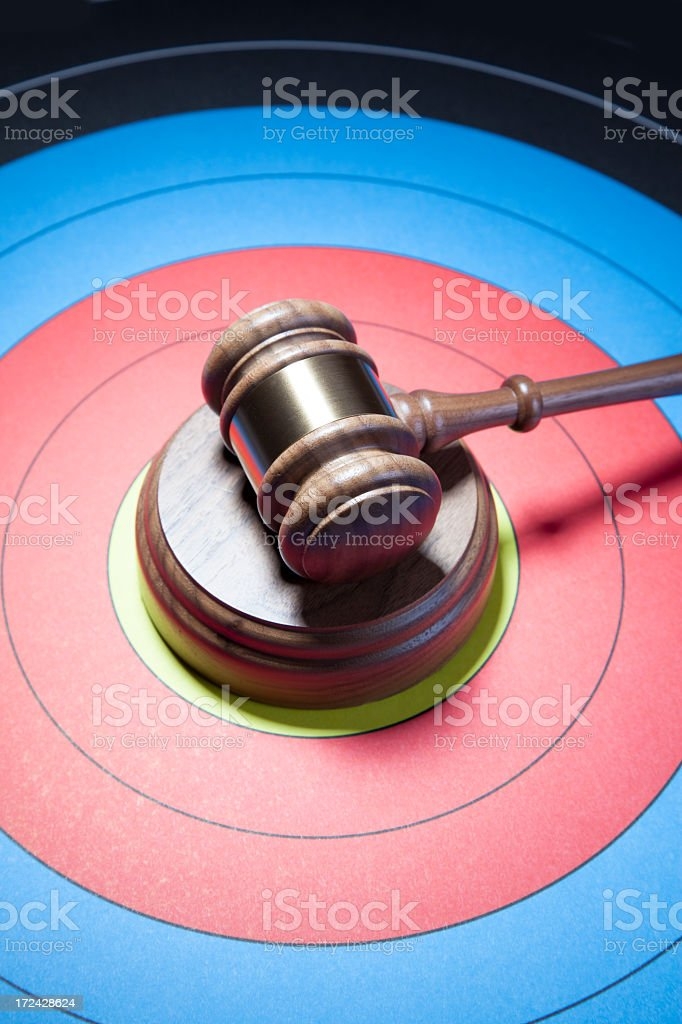 Seeking Justice royalty-free stock photo